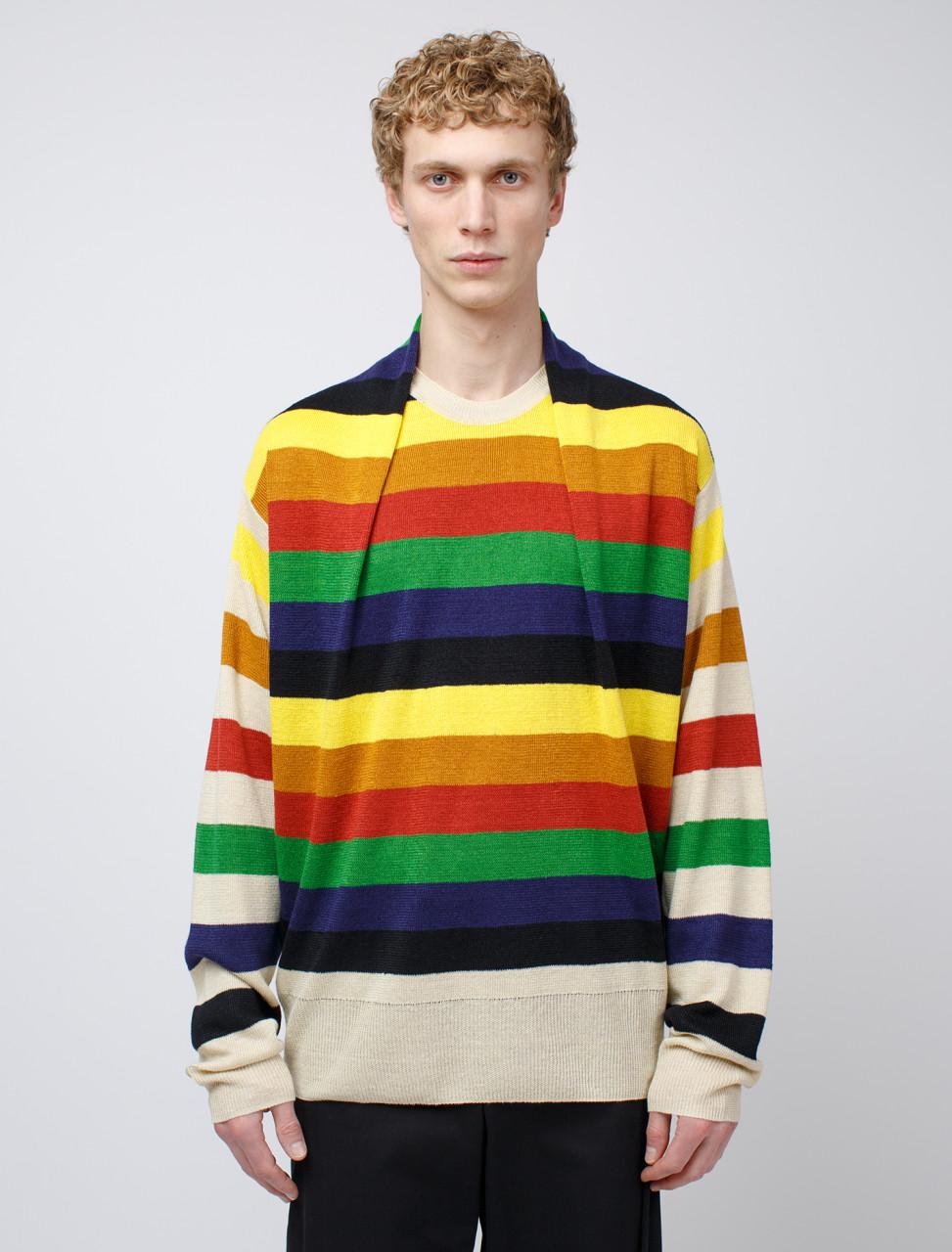 Multicolour Stripe Knit