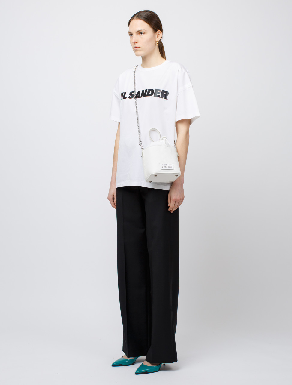 Drawstring Trouser in Black