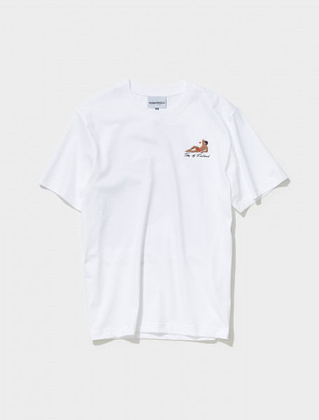 AW21TS06 WHITE CARNE BOLLENTE GAYS OF WONDER T SHIRT IN WHITE