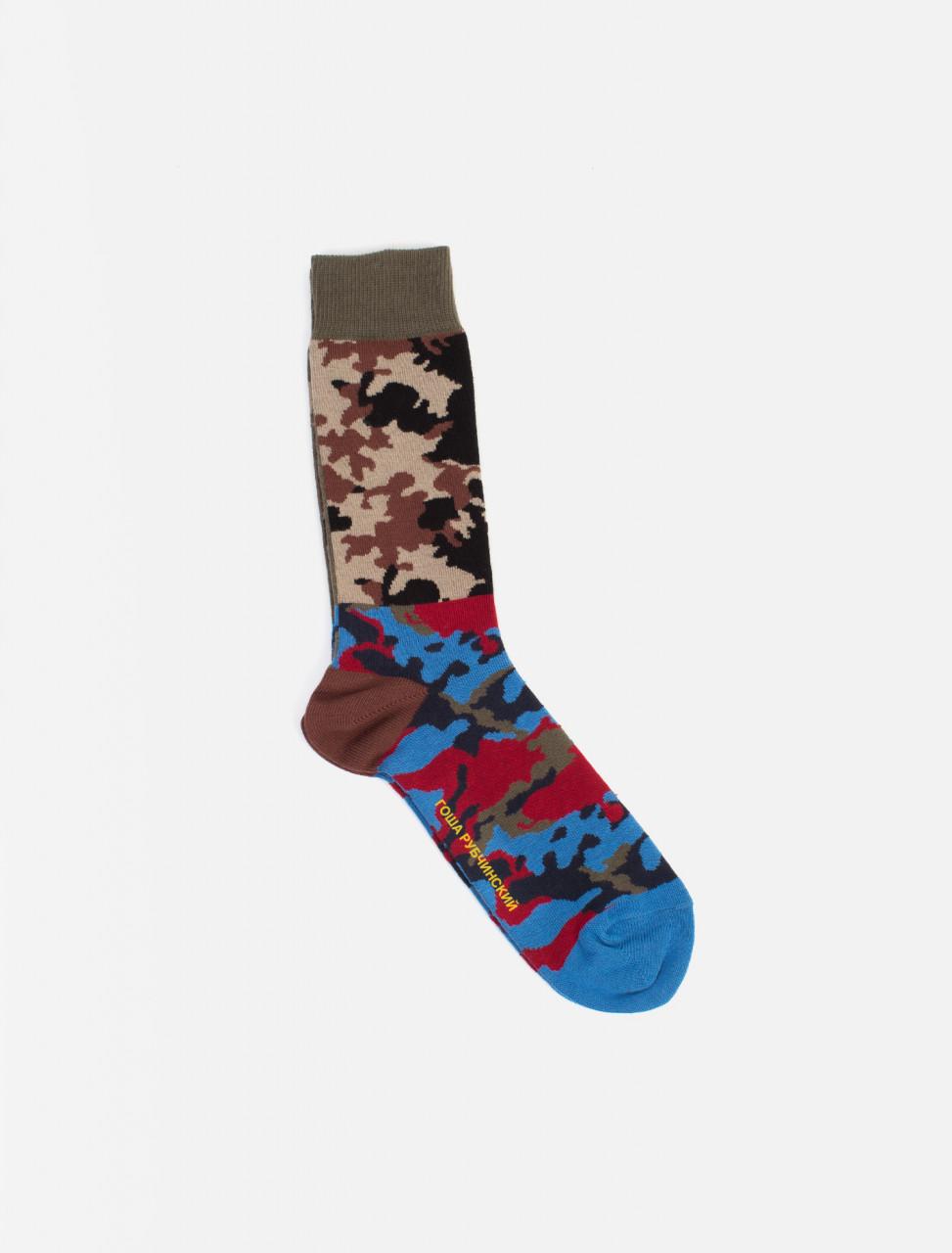 Gosha Camo Combo Socks