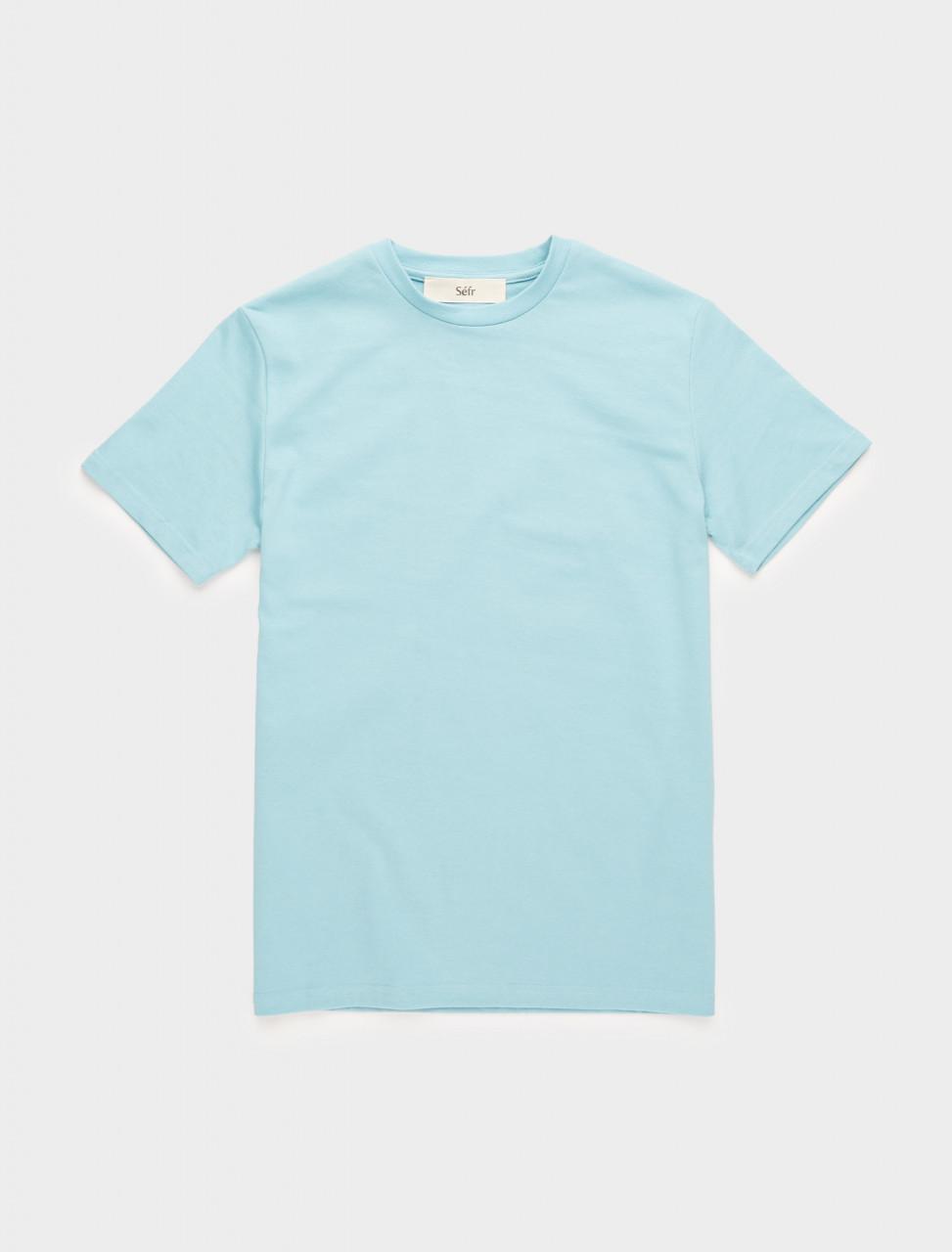 271-CT-CB SÉFR CLIN TEE IN CADET BLUE