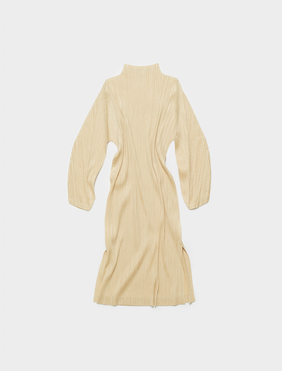 PP16JT163-41 PLEATS PLEASE ISSEY MIYAKE DRESS IVORY