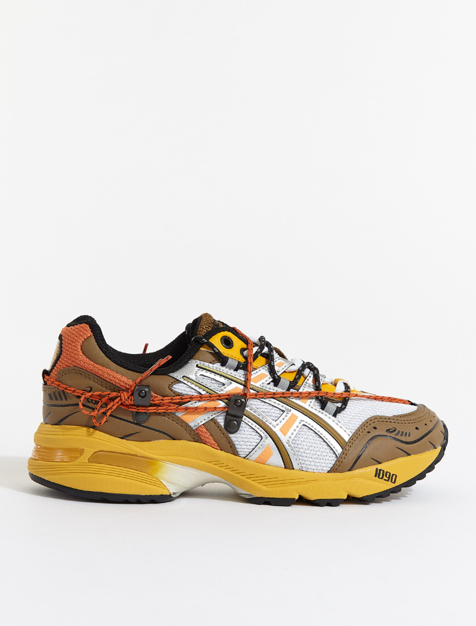 1203A115-105 ASICS GEL 1090 WHITE ORANGE