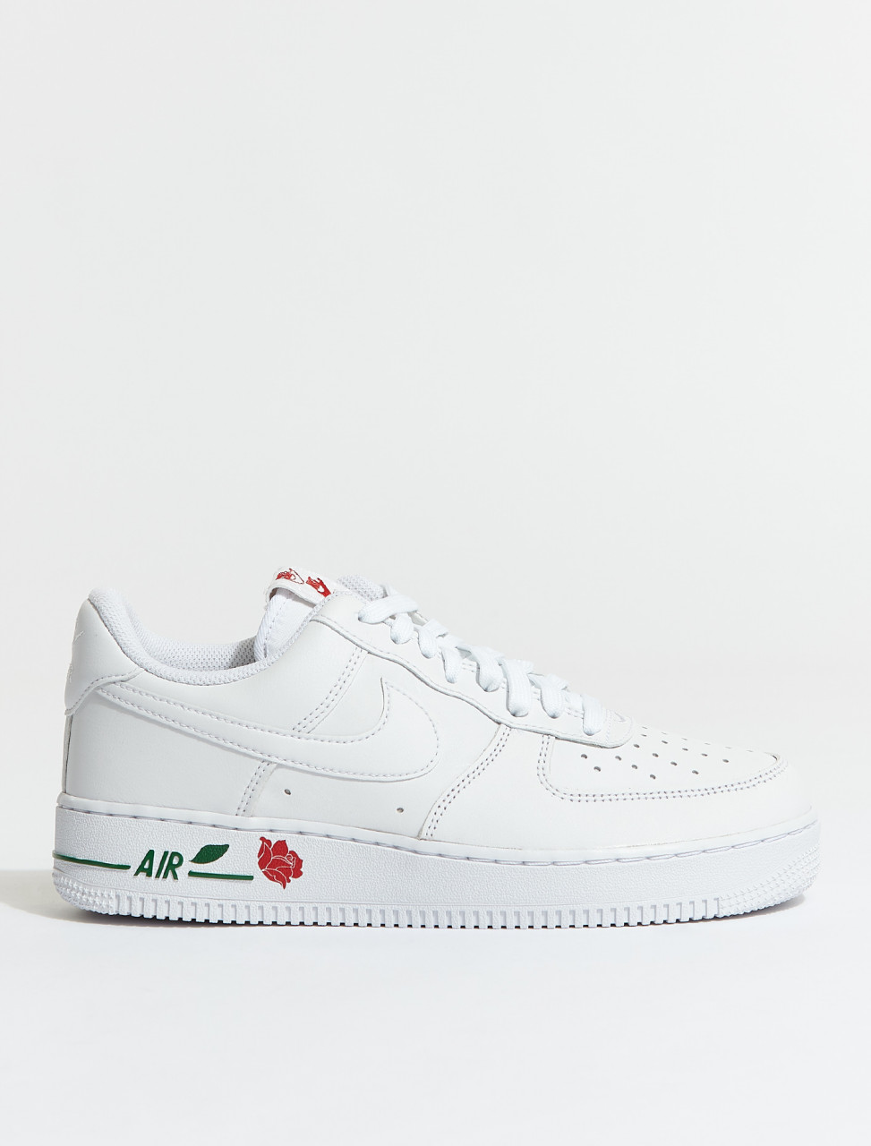 CU6312-100 NIKE AIRFORCE 1 07 LX WHITE UNIVERSE RED