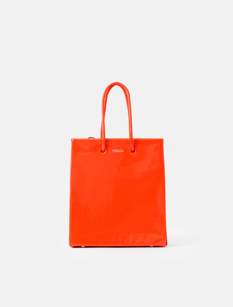 Short Tote in Scarlet