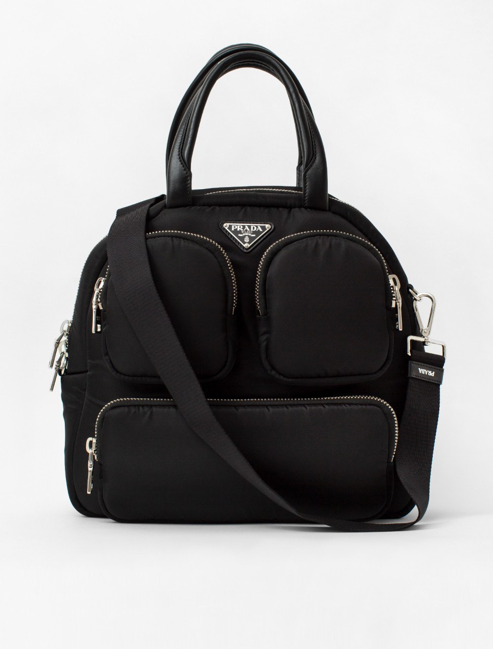 Nylon Pocket Handbag
