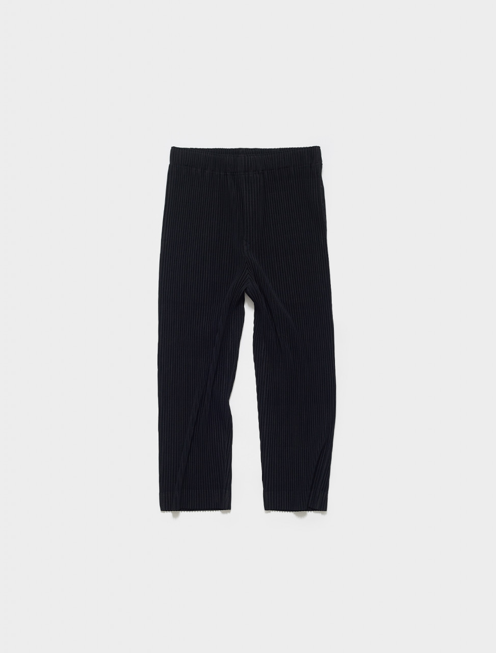 HP16JF123-15 HOMME PLISSE ISSEY MIYAKE PLEATED TROUSERS IN BLACK