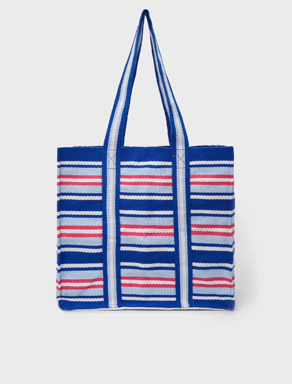 B01INT-B DNI TOTE BAG BLUE RED