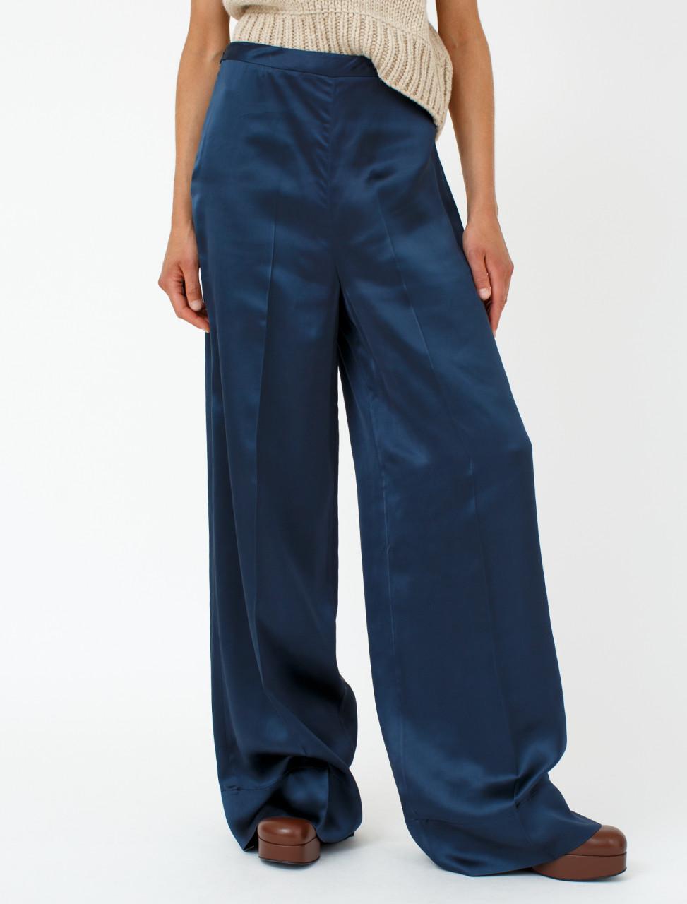 Trouser in Medium Blue
