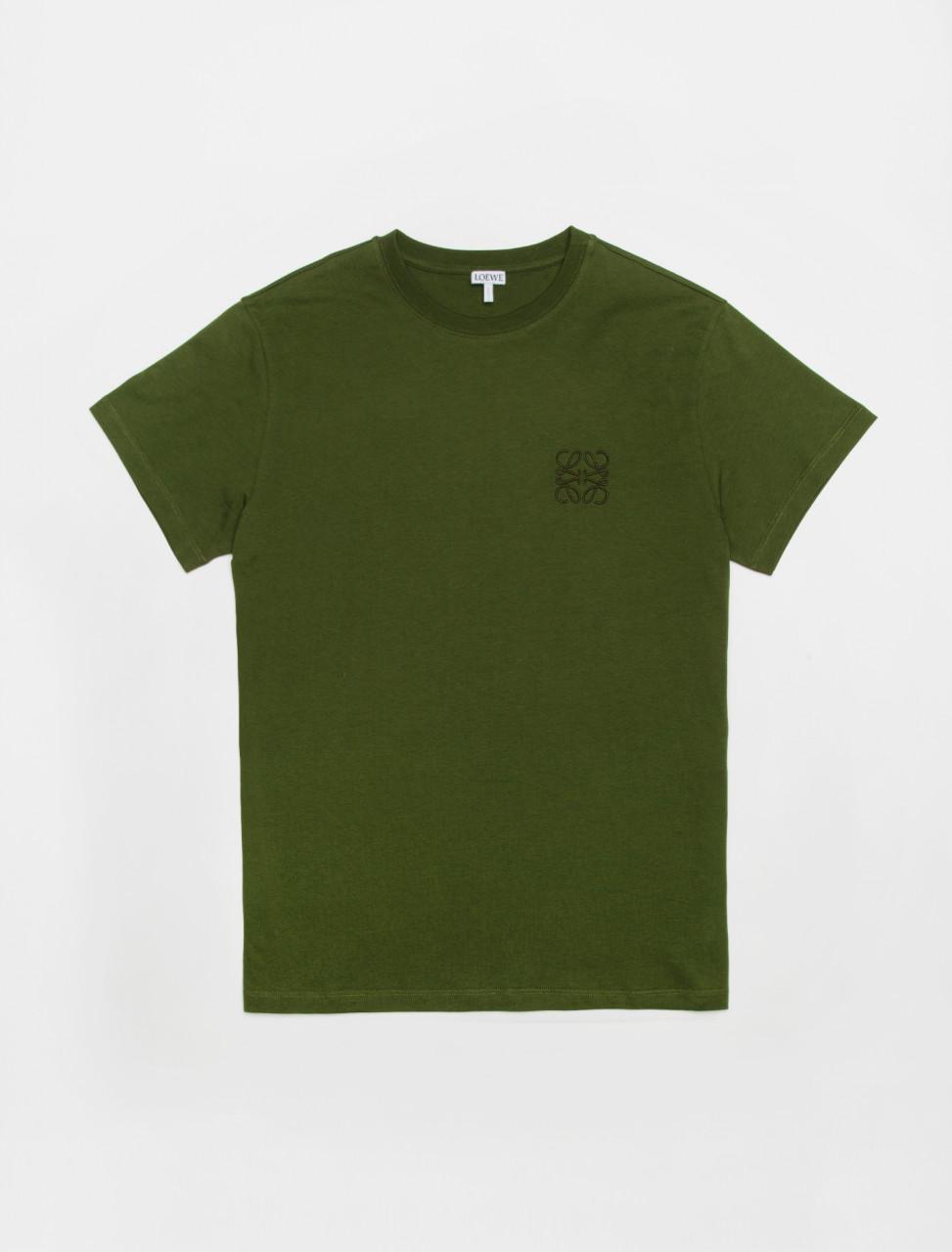 Anagram T-Shirt in Khaki Green