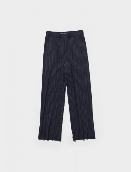 PP18JF425 15 PLEATS PLEASE ISSEY MIYAKE PLEATED TROUSERS IN BLACK