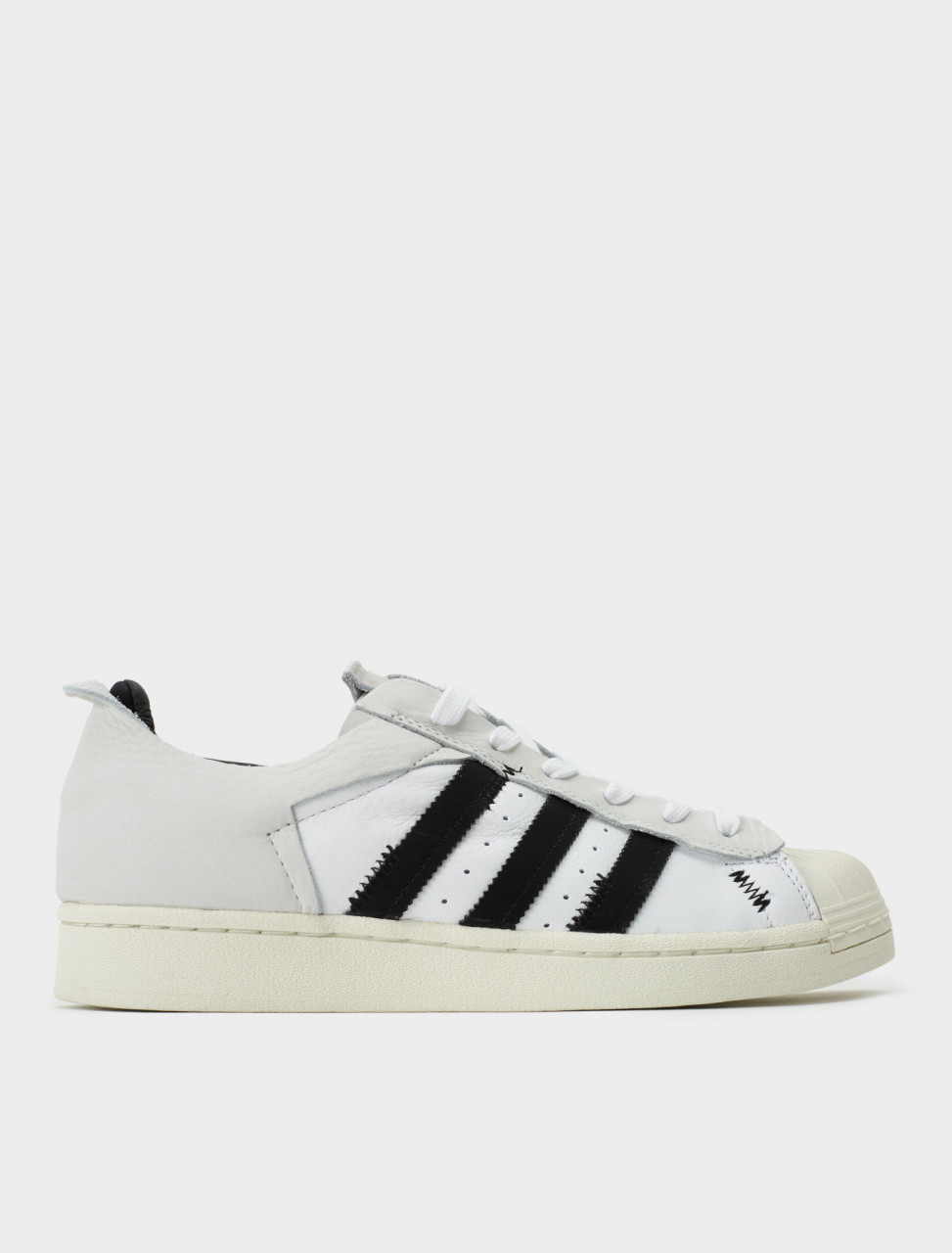 Adidas Superstar WS2 Sneaker in Black and White Side