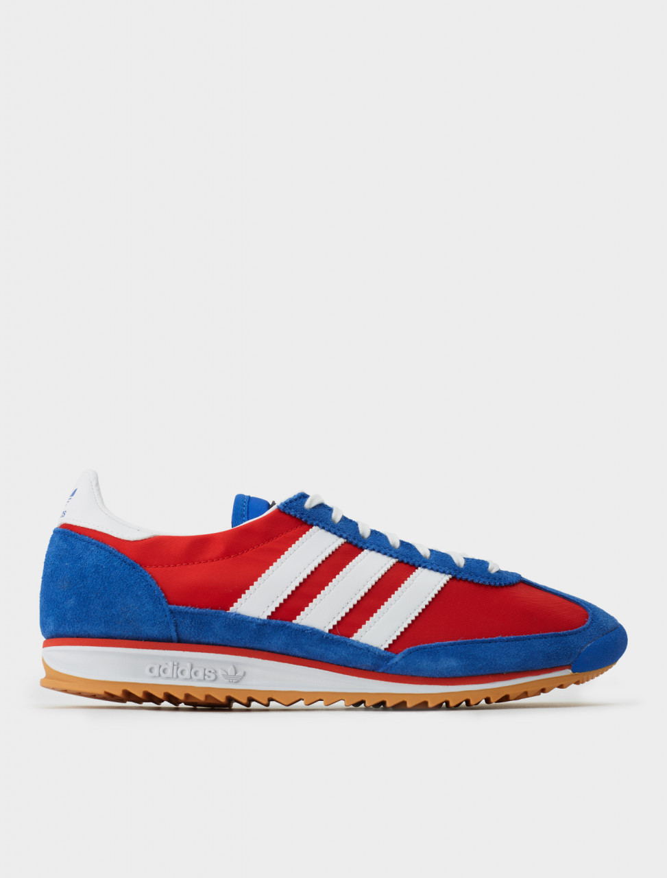 Adidas x Lotta Volkova SL72 Sneaker in Red, Blue and White