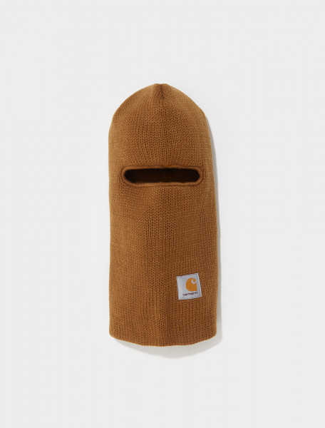 I025394_HZXX CARHARTT WIP STORM MASK IN HAMILTON BROWN