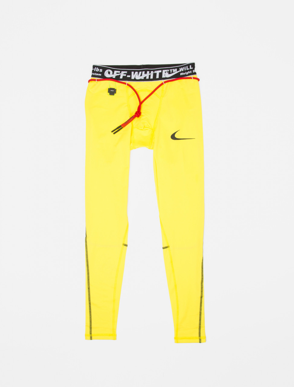 x Off-White Pro Tights in Optic Yellow
