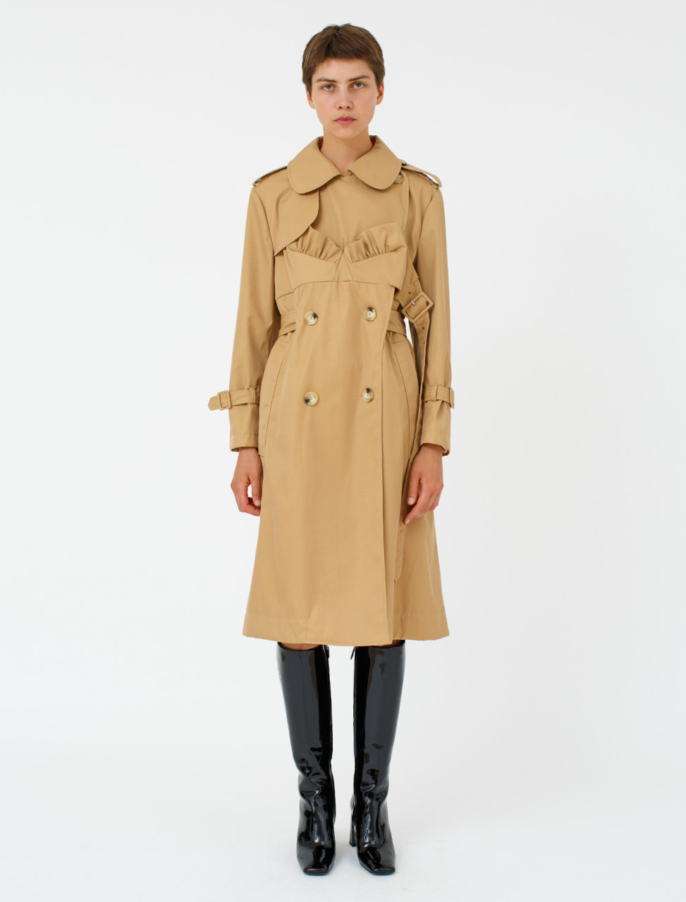 Bustier Trench Coat