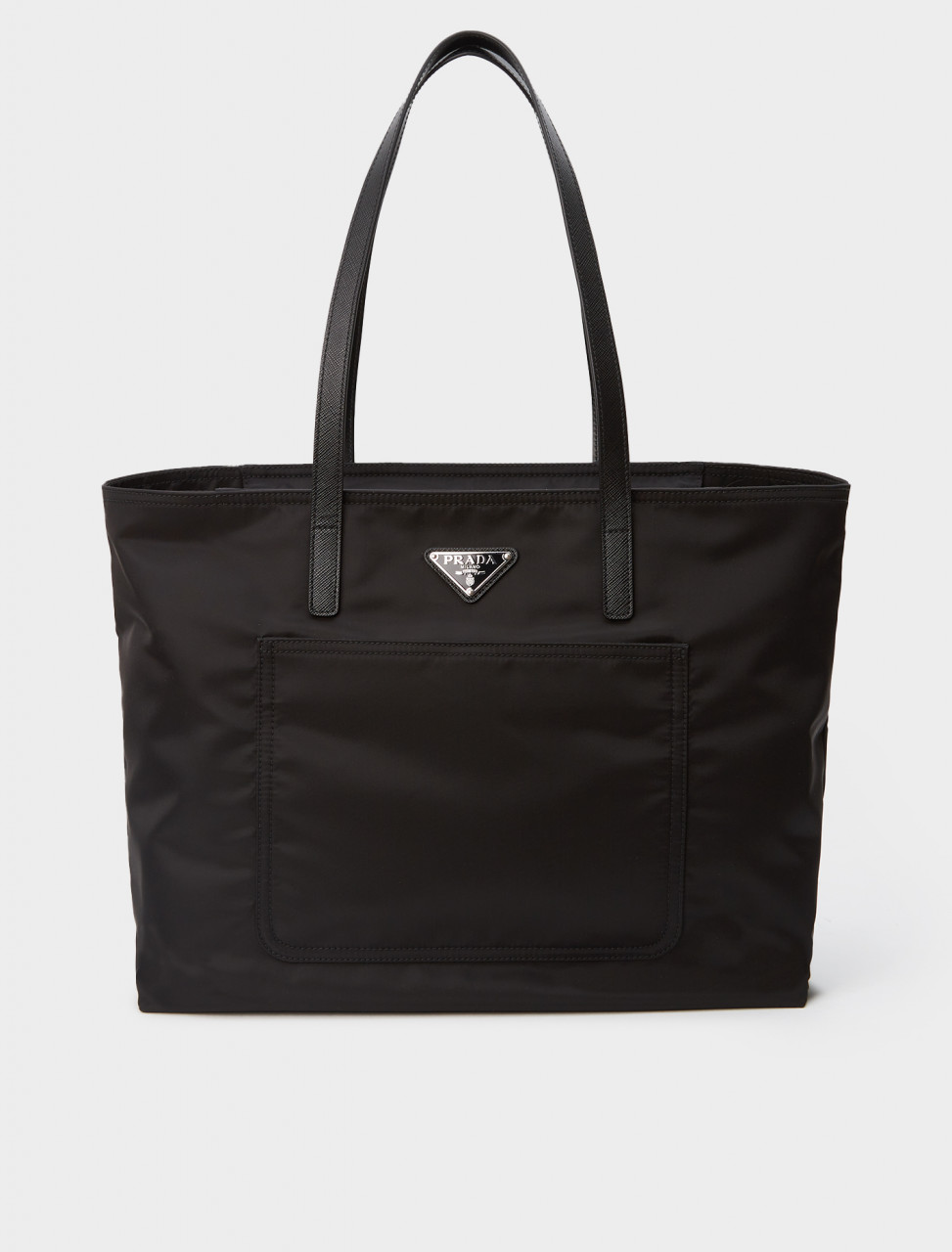 1BG052-F0002-OS PRADA NYLON SHOPPER BLACK