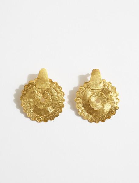 1000737 APRES SKI DISCO EARRINGS IN GOLD