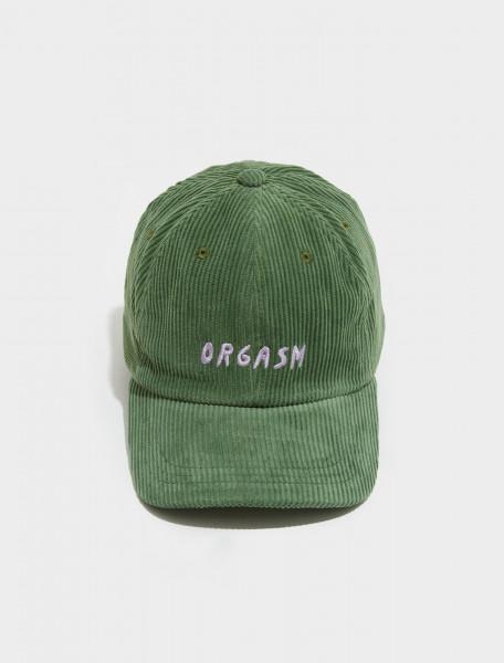 AW21CP01 GREEN CARNE BOLLENTE THE FINAL ORGASM CAP IN GREEN