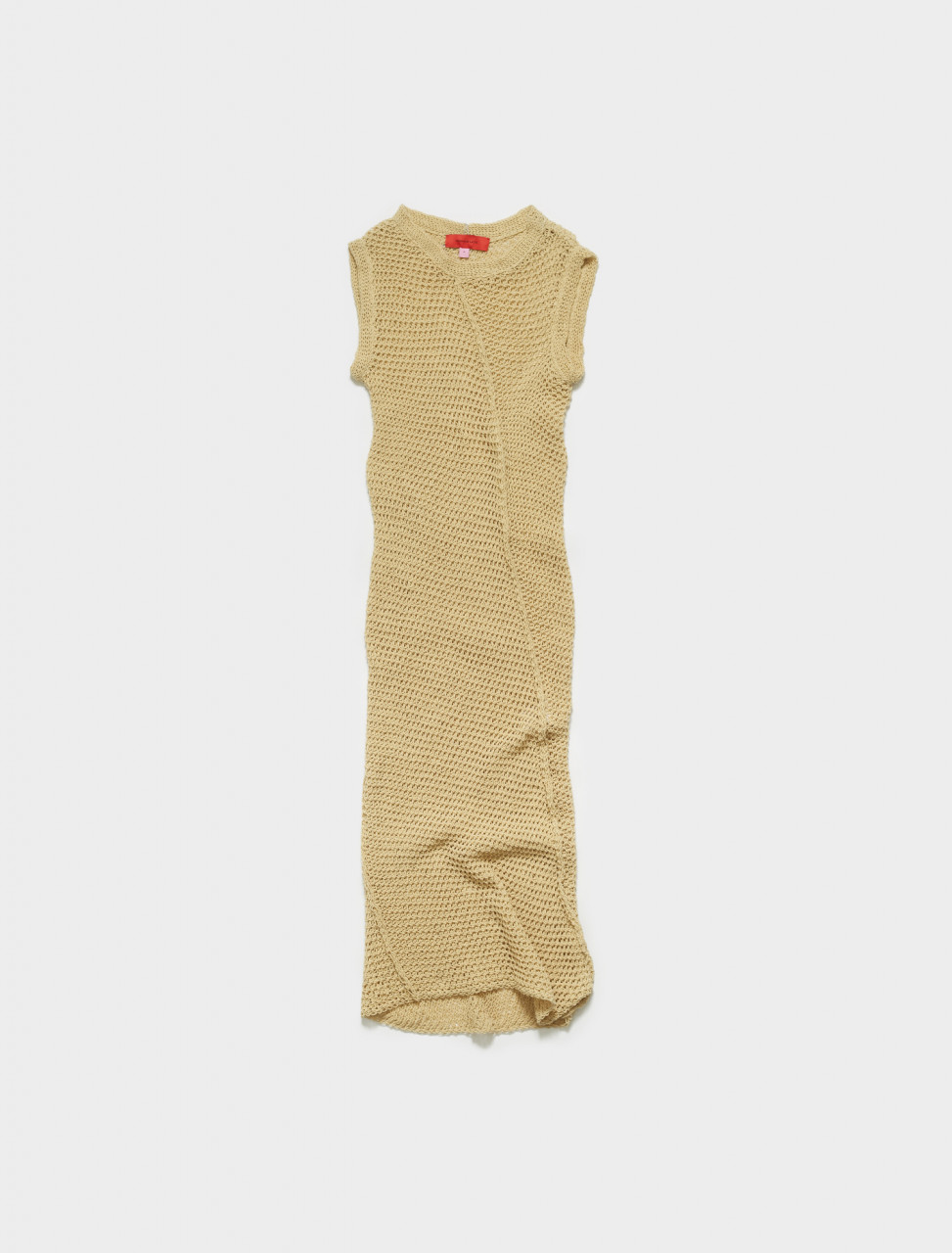 270-864-EL-SS20-IS ECKHAUS LATTA WINDING DRESS ITALIAN STRAW