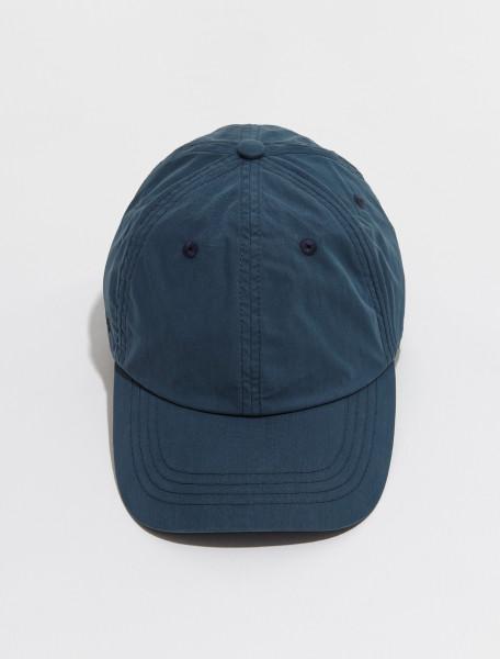 C40187 863 FN UX HATS000131 ACNE STUDIOS CARLIY PARACHUTE CAP IN MID BLUE