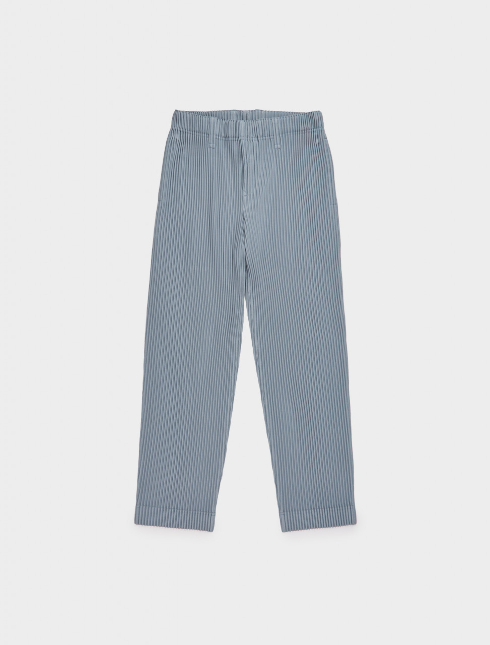 HP08JF211-12HOMME PLISSE ISSEY MIYAKE PLEATED TROUSER WINTER SKY GREY