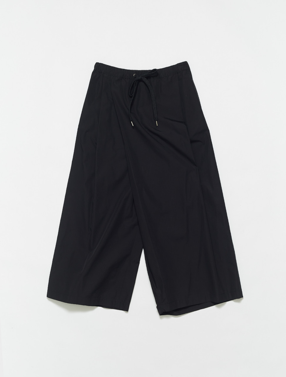 PAMA0074A1-00N99 MARNI WOVEN COTTON TROUSER BLACK