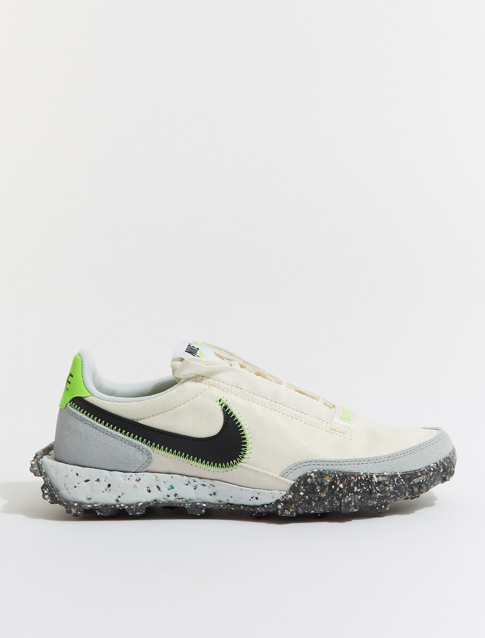 CT1983-102 NIKE WAFFLE RACER CRATER PALE IVORY BLACK