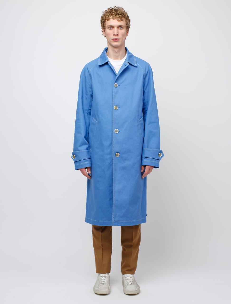 Coat in Light Blue