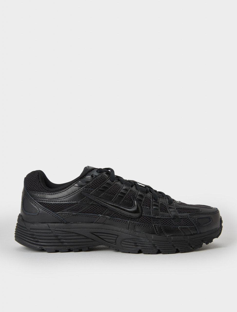 Nike P-6000 Sneaker in Black Swoosh