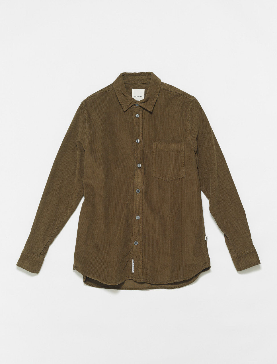 325-12035305-5233-8003 WOOD WOOD ASKE SHIRT DARK GREEN