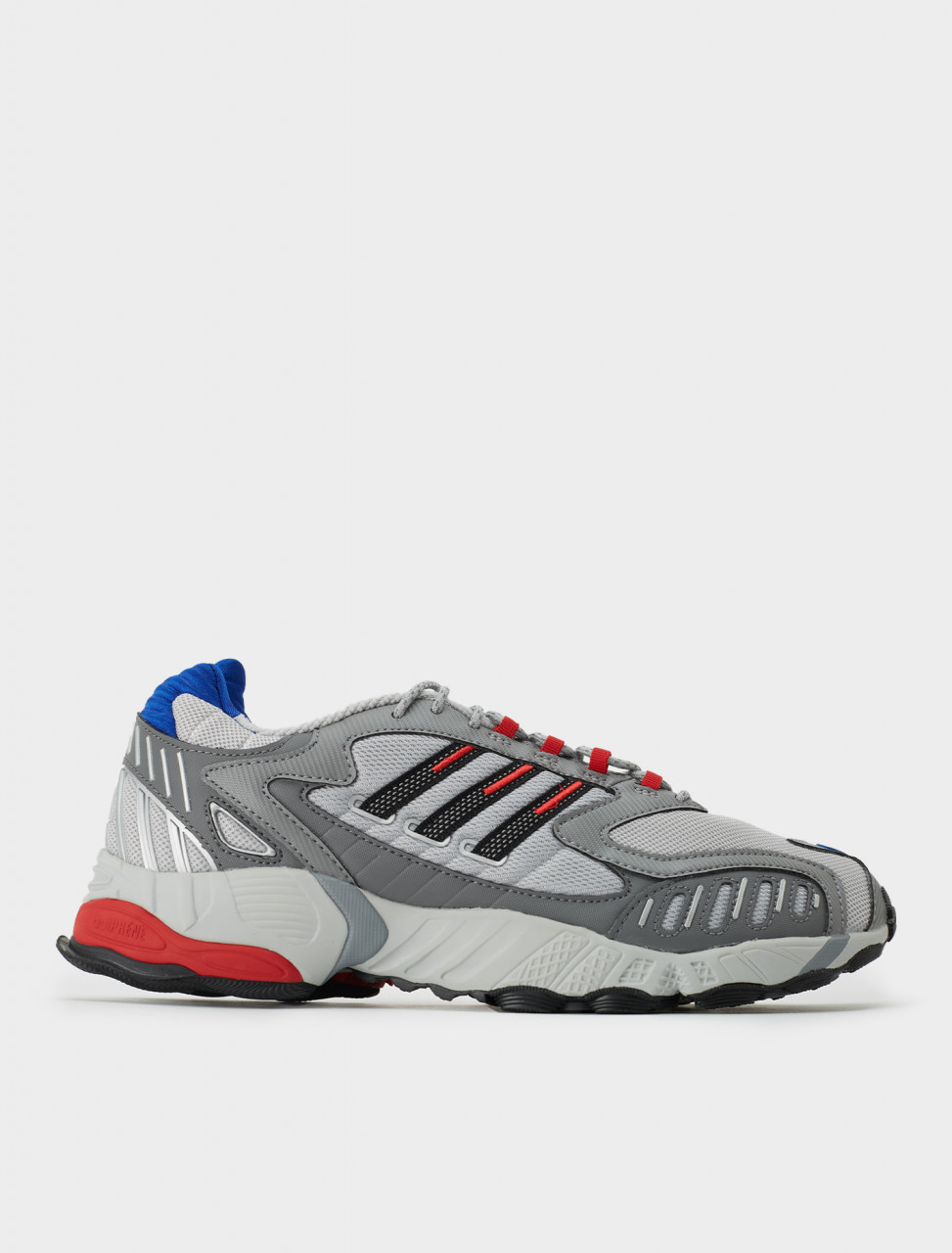 Adidas Torsion TRDC Sneaker in Red, Blue and Grey