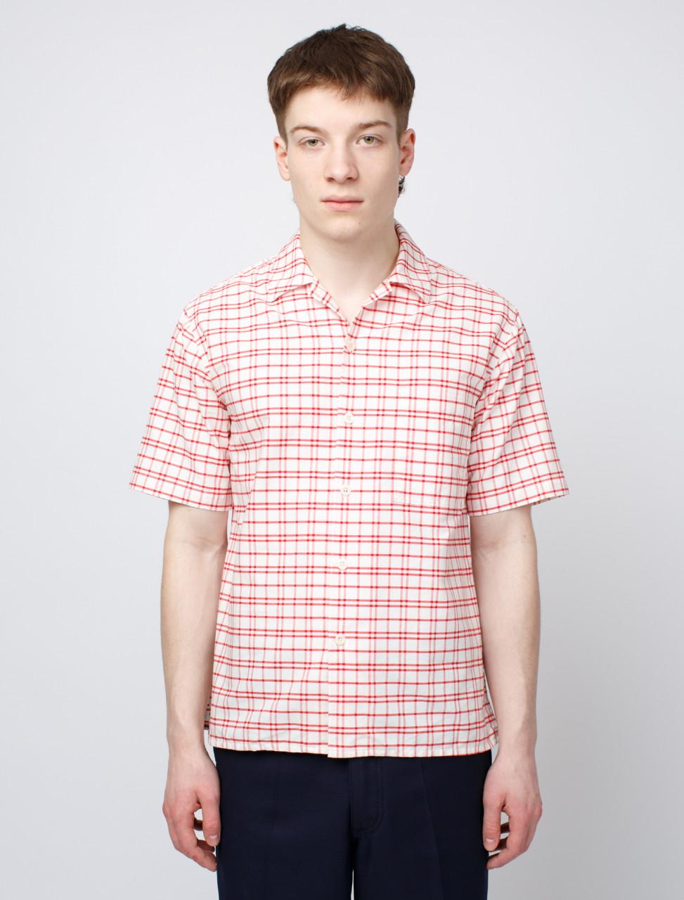 Camp Collar Check Shirt