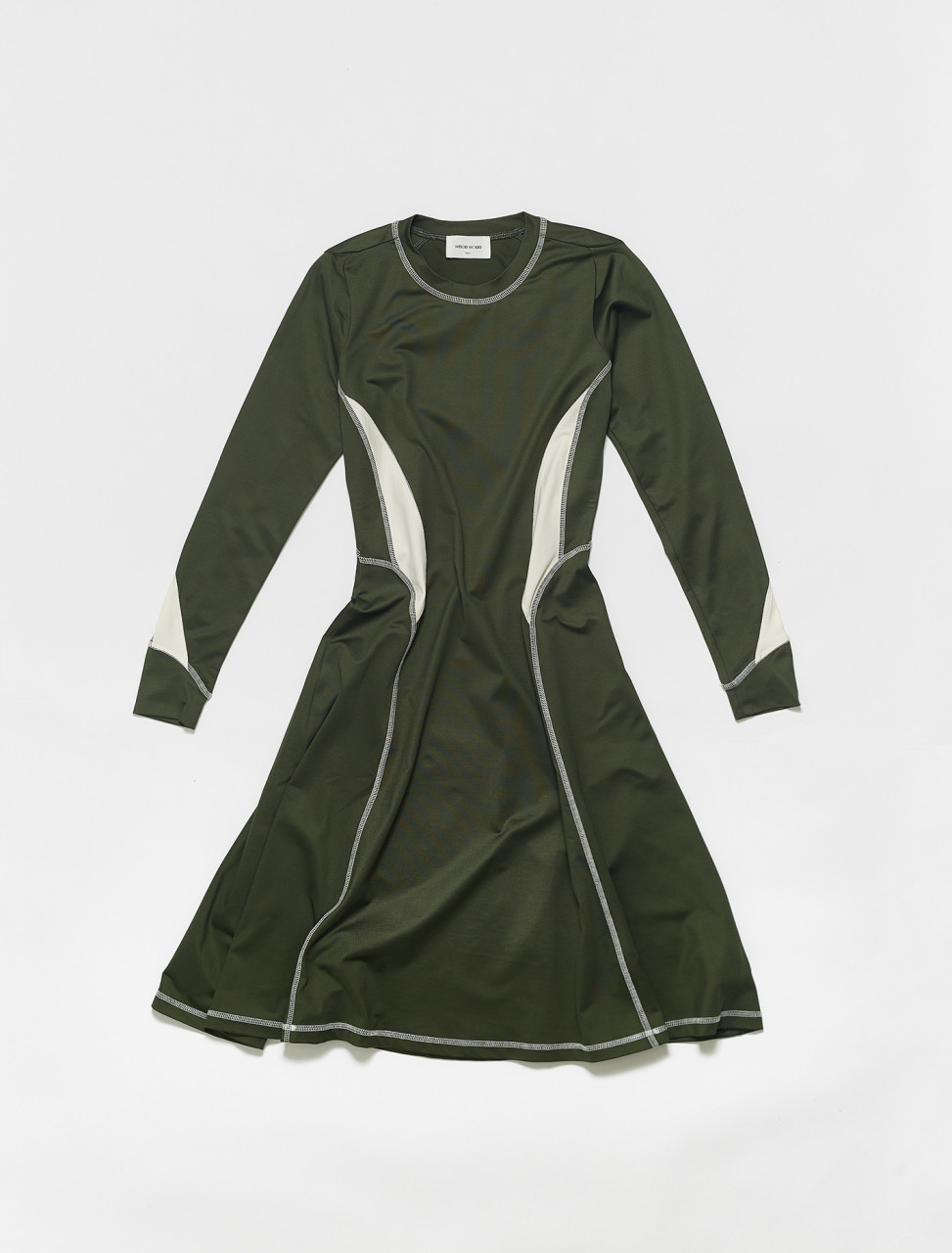 325-12011105-2478 WOOD WOOD SUE DRESS DARK GREEN
