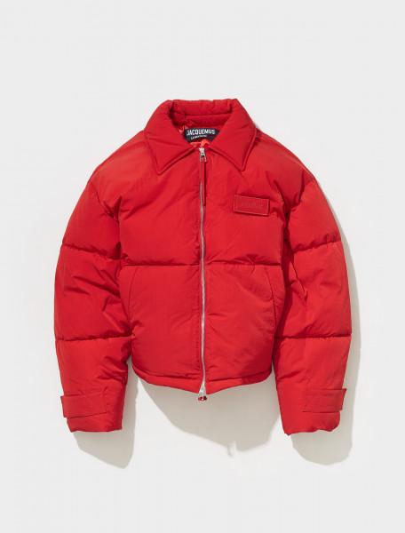 216BL03 216 132470 JACQUEMUS LA DOUDOUNE FLOCON IN RED