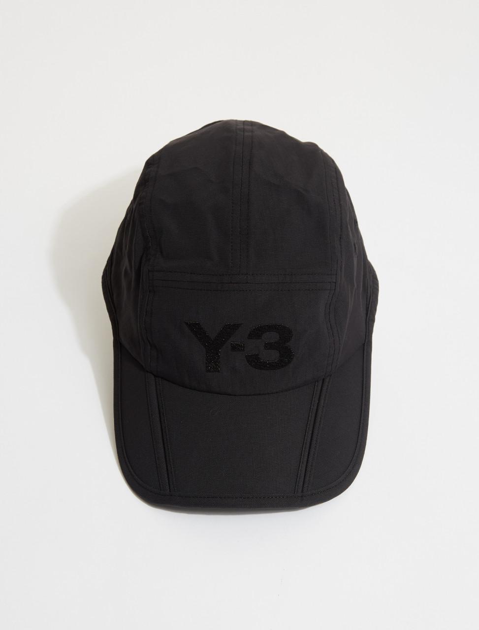 165-FQ6984 Y-3 FOLDABLE CAP BLACK