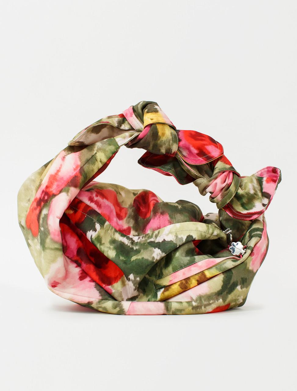 Printed Floral Baby Wrap Bag