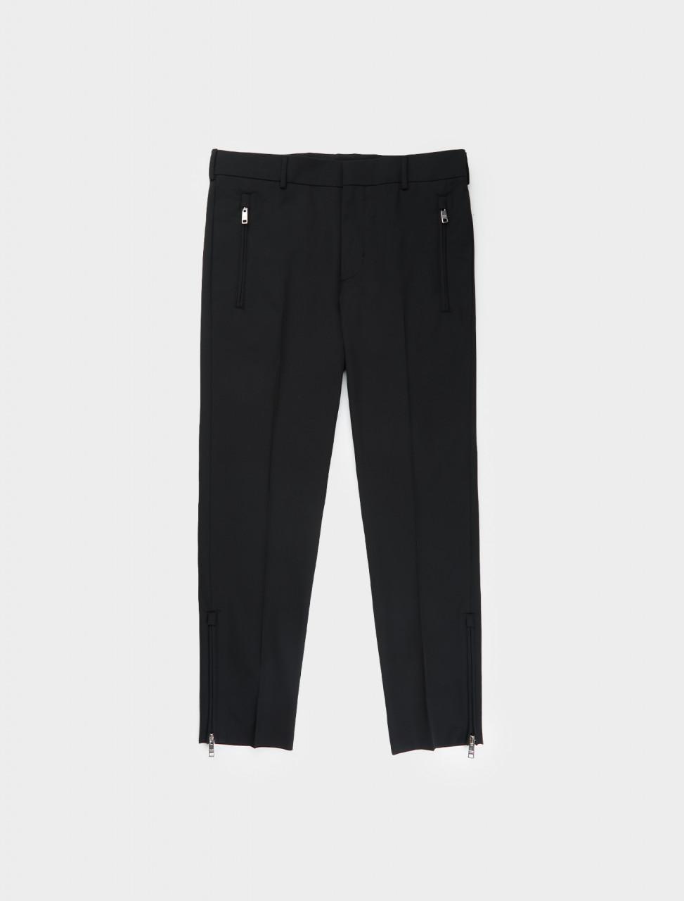 242-SPG76-G39-F0002 Prada Technical Fabric Stretch Trouser in Black