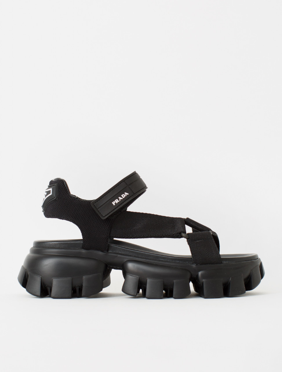 Nylon Sandal in Black