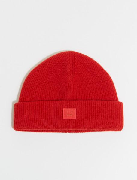 110-C40075-ACK ACNE STUDIOS FA UX HATS00040 RED