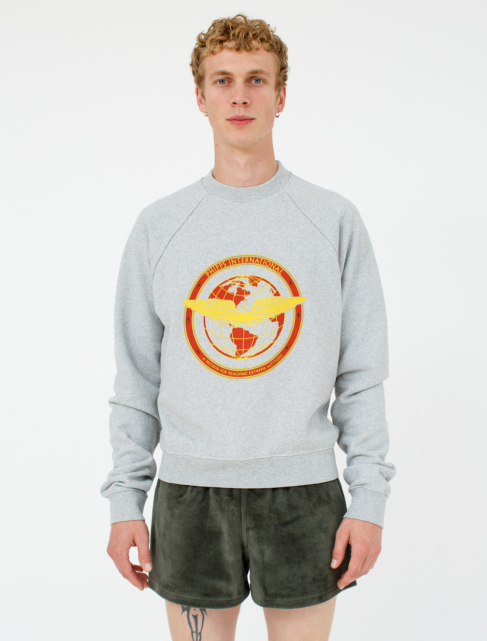 Flight Logo Sweatshirt