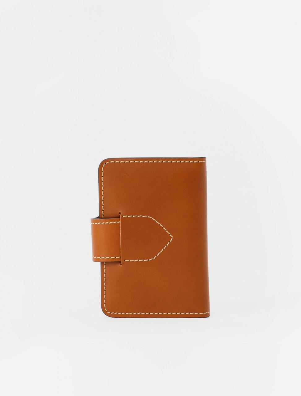 Bi-Fold Card Holder in Cuoio
