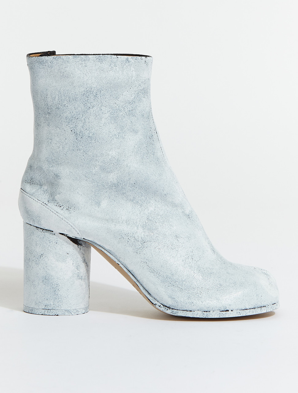 S58WU0260-P4162-H1532 MAISON MARGIELA TABI BOOT IN WHITE PAINT