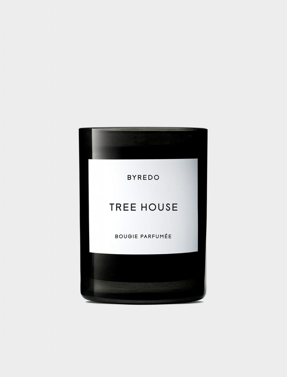 338-20020011 BYREDO TREE HOUSE CANDLE 240