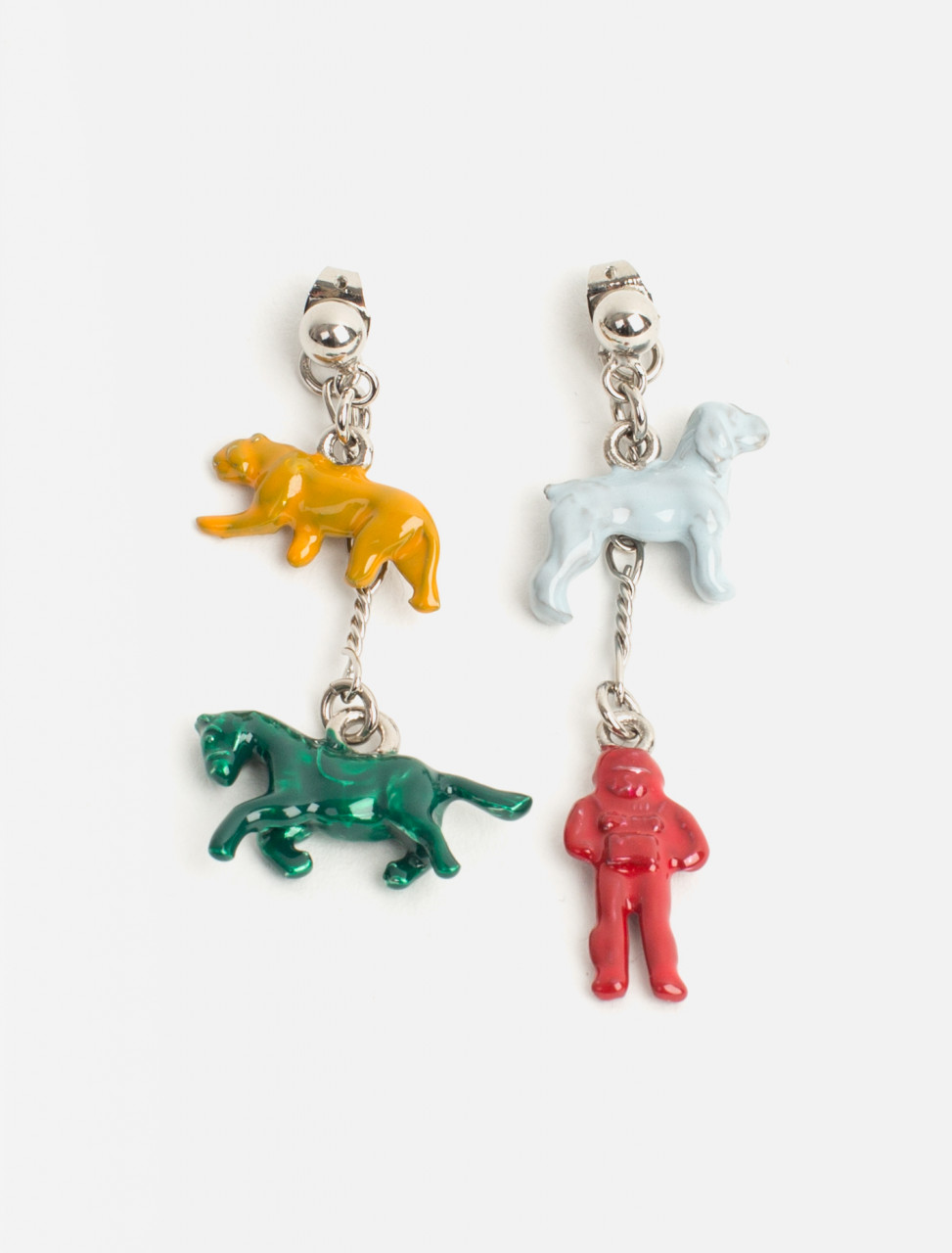 Enamel Toy Earring