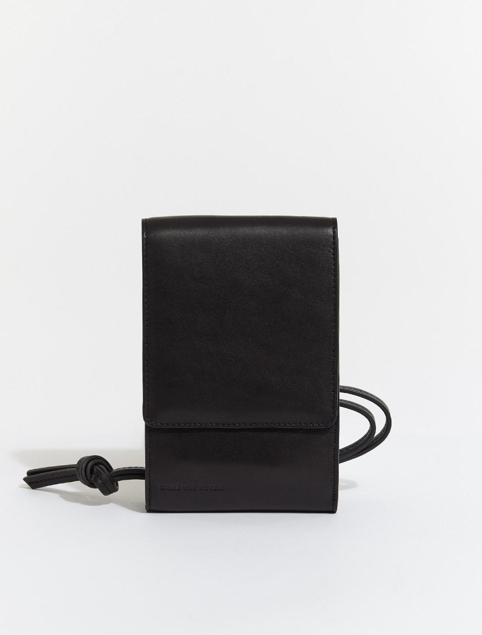 211-22100-111-900DRIES VAN NOTEN PHONE POUCH IN BLACK