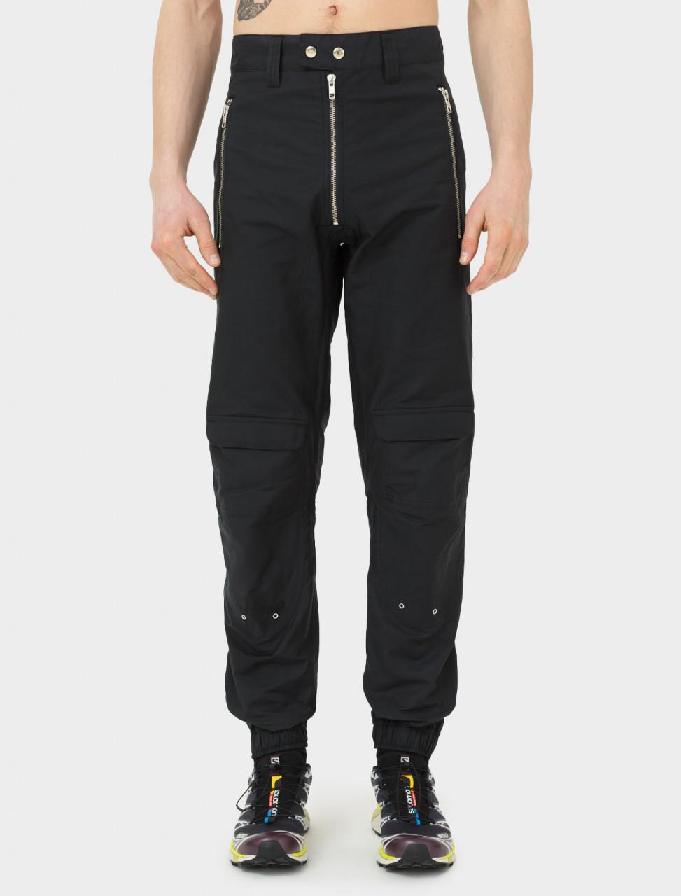 Yolanda Biker Trouser in Black