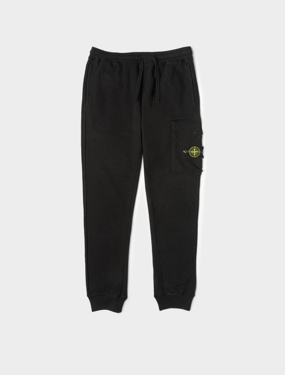 Fleece Trouser in Black