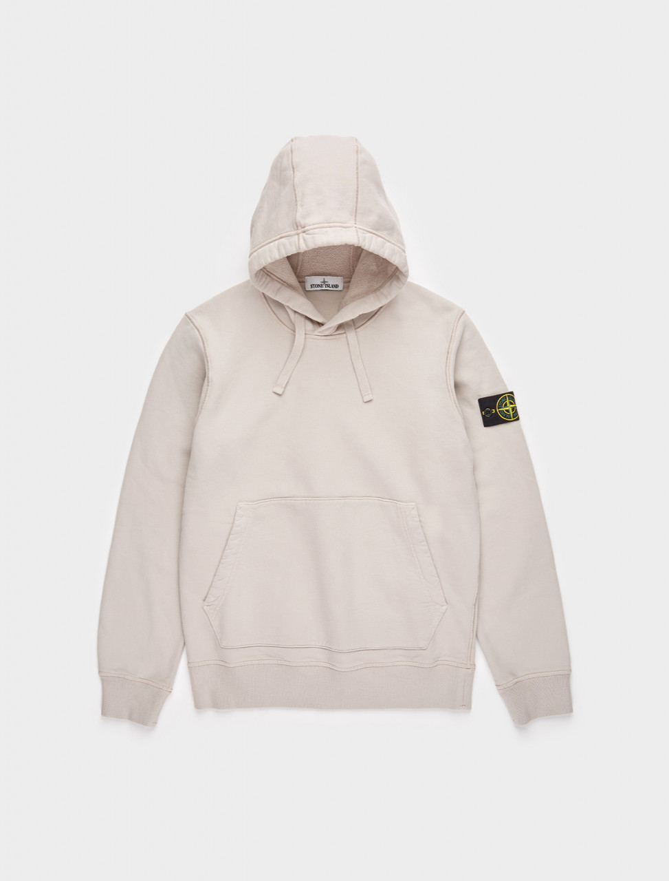 241-MO731564120-V0092 STONE ISLAND HOODED SWEATSHIRT IN DOVE GREY