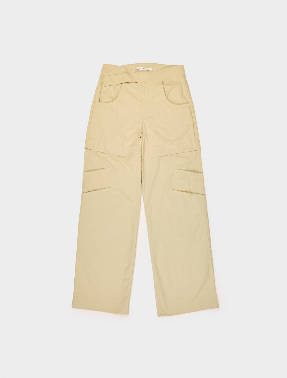 342-SS20GIOME MAINLINE GIOME TROUSER YELLOW